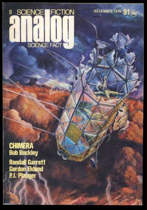 Analog Science Fiction Science Fact December 1976. Ben Bova, ed