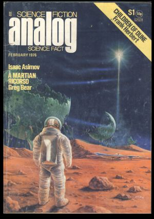 The Winnowing in Analog Science Fiction Science Fact February 1976. Isaac Asimov