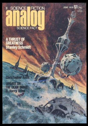 Analog Science Fiction Science Fact June 1976. Ben Bova, ed.