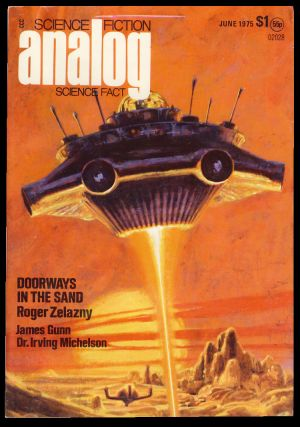 Analog Science Fiction Science Fact June 1975. Ben Bova, ed.
