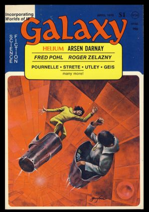 Galaxy April 1975. James Baen, ed