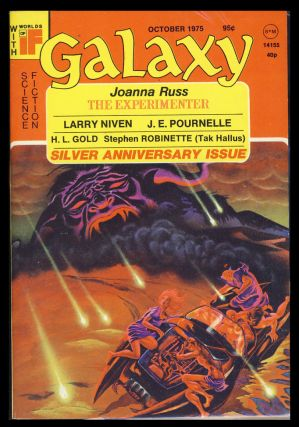 Galaxy October 1975. James Baen, ed