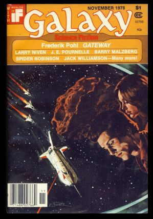 Galaxy Novermber 1976. James Baen, ed