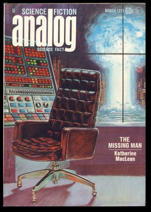 Analog Science Fiction Science Fact March 1971. John W. Campbell, ed, Jr