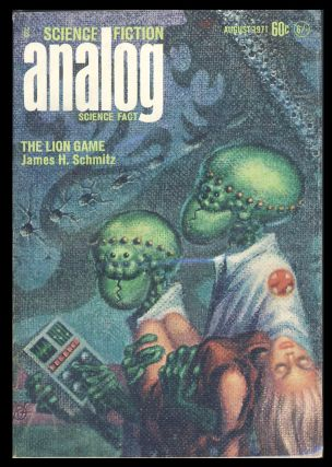 Analog Science Fiction Science Fact August 1971. John W. Campbell, ed, Jr