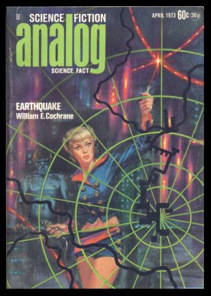 Analog Science Fiction Science Fact April 1973. Ben Bova, ed