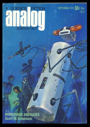 Analog Science Fiction Science Fact September 1973. Ben Bova, ed