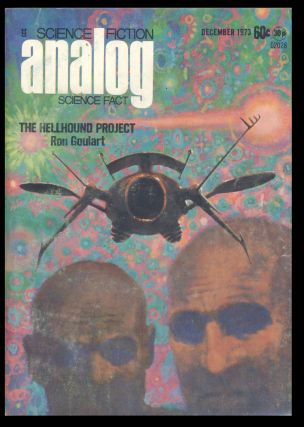 Analog Science Fiction Science Fact December 1973. Ben Bova, ed
