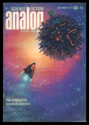 Analog Science Fiction Science Fact September 1972. Ben Bova, ed