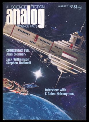 Analog Science Fiction Science Fact January 1977. Ben Bova, ed.