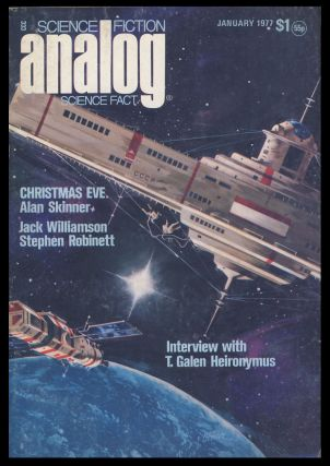 Analog Science Fiction Science Fact January 1977. Ben Bova, ed