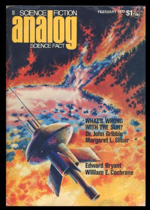 Analog Science Fiction Science Fact February 1977. Ben Bova, ed