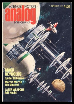 Analog Science Fiction Science Fact October 1977. Ben Bova, ed