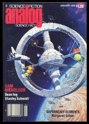 Analog Science Fiction Science Fact January 1978. Ben Bova, ed.