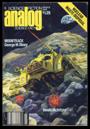 Analog Science Fiction Science Fact March 1978. Ben Bova, ed