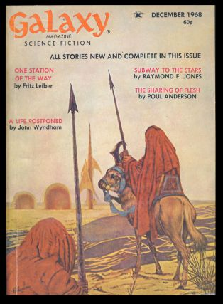 The Sharing of Flesh in Galaxy Magazine December 1968. Poul Anderson.