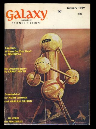 Foeman, Where Do You Flee? in Galaxy Magazine January 1969. Ben Bova