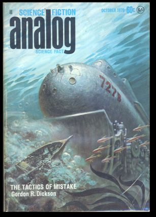 Analog Science Fiction Science Fact October 1970. John W. Campbell, ed, Jr