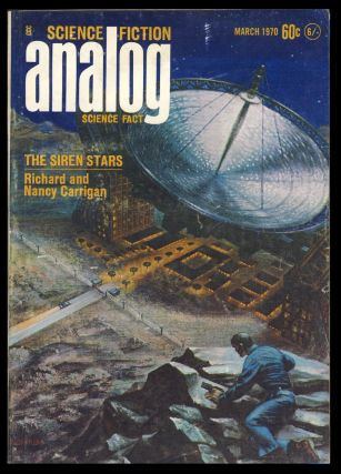 Analog Science Fiction Science Fact March 1970. John W. Campbell, ed, Jr