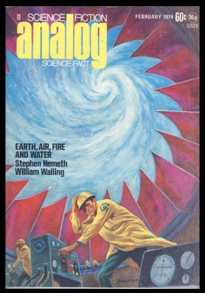 Analog Science Fiction Science Fact February 1974. Ben Bova, ed