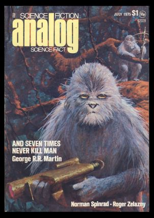 Analog Science Fiction Science Fact July 1975. Ben Bova, ed