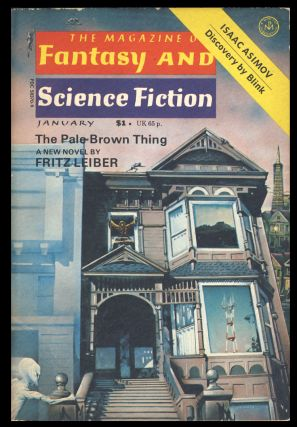 The Magazine of Fantasy and Science Fiction January 1977. Edward L. Ferman, ed