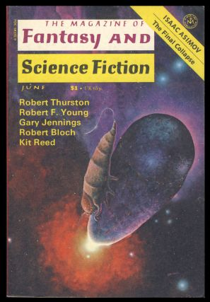 The Magazine of Fantasy and Science Fiction June 1977. Edward L. Ferman, ed