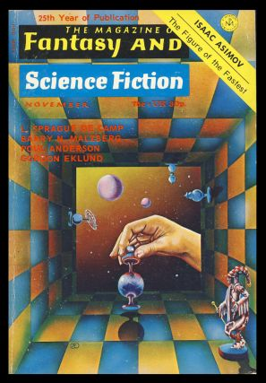 The Pugilist in The Magazine of Fantasy and Science Fiction November 1973. Poul Anderson