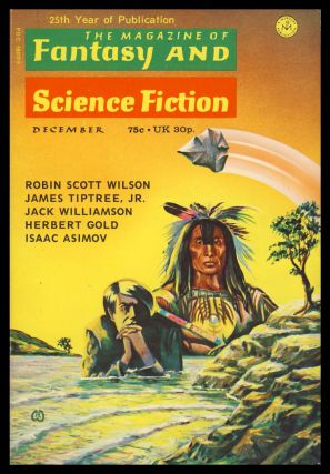 The Magazine of Fantasy and Science Fiction December 1973. Edward L. Ferman, ed