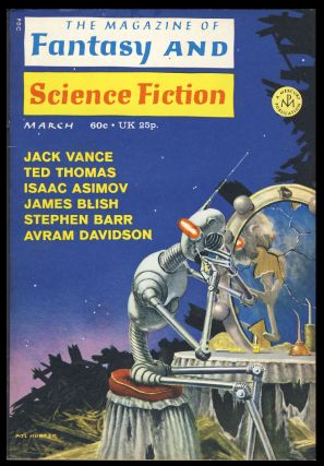 The Faceless Man (Part 2 of 2) in The Magazine of Fantasy and Science Fiction March 1971. Jack Vance.