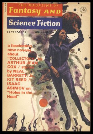 The Magazine of Fantasy and Science Fiction September 1971. Edward L. Ferman, ed.