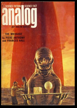 The Ancient Gods (Part 2 of 2) in Analog Science Fiction Science Fact July 1966. Poul Anderson