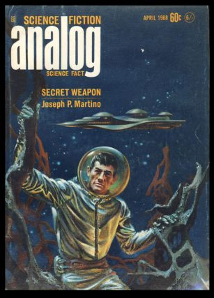 Analog Science Fiction Science Fact April 1968. John W. Campbell, ed, Jr