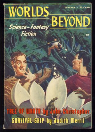 Worlds Beyond January 1951. Damon Knight, ed
