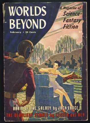 Brain of the Galaxy in Worlds Beyond February 1951. Jack Vance