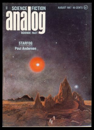 Starfog in Analog Science Fiction Science Fact August 1967. Poul Anderson.