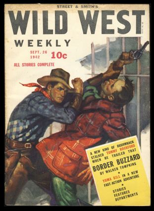 Street & Smith's Wild West Weekly September 26, 1942. Authors