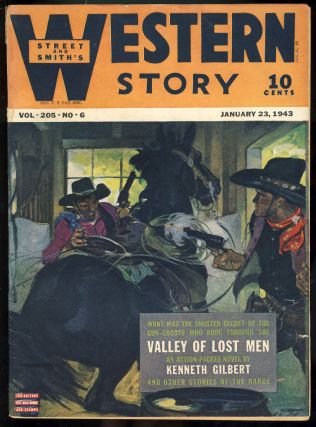 Street & Smith's Western Story January 23, 1943. Kenneth Gilbert