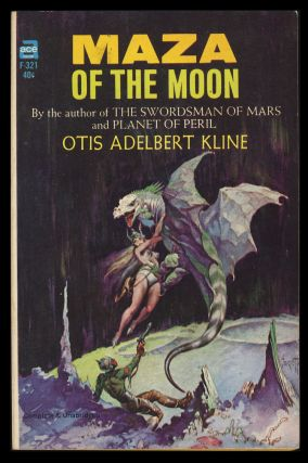 Maza of the Moon. Otis Adelbert Kline.