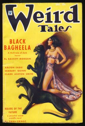 Black Bagheela in Weird Tales January 1935