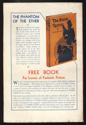 Through the Gates of the Silver Key in Weird Tales July 1934.