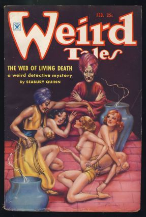 The Grisly Horror in Weird Tales February 1935.