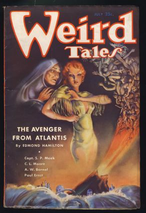 The Avengers from Atlantis in Weird Tales July 1935.