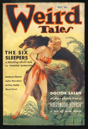 The Six Sleepers in Weird Tales October 1935. Edmond Hamilton.