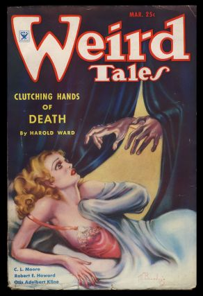 Jewels of Gwahlur in Weird Tales March 1935. Robert E. Howard