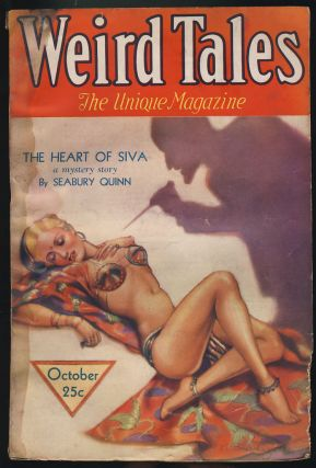 The Heart of Siva in Weird Tales October 1932. Seabury Quinn