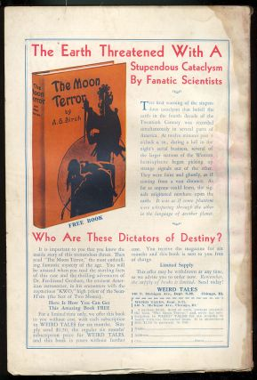 The Heart of Siva in Weird Tales October 1932.