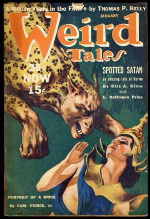 Spotted Satan in Weird Tales January 1940. Otis Adelbert Kline, E. Hoffmann Price.