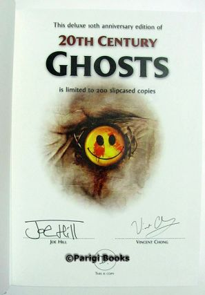20th Century Ghosts 10th Anniversary Deluxe Slipcased Edition. (Signed Lettered Edition).