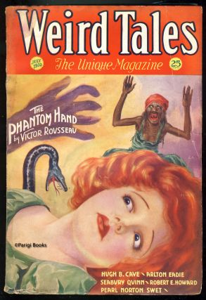 Wings in the Night in Weird Tales July 1932. Robert E. Howard.